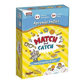 Educational Game Match and Catch Falomir English (ES)