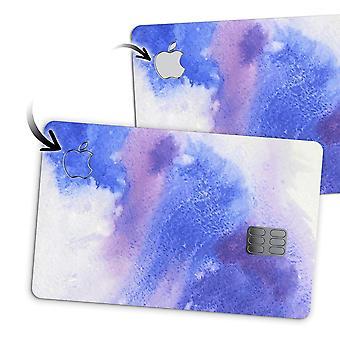 Derramamento de aquarela azul e rosa - Premium Protective Decal Skin Kit