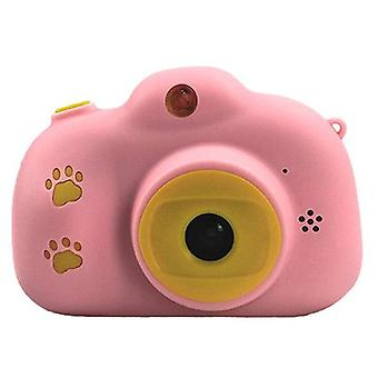 Children fun camera with memory card usb rechargeable child cameras with hp ips digital screen mini toy gift kids camera