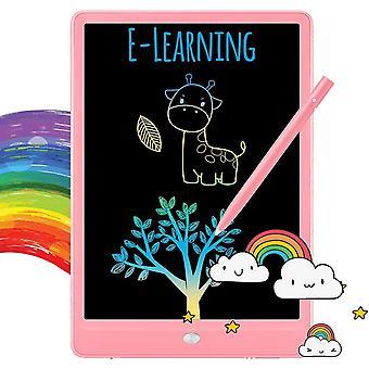 Kirjoitus tabletti doodle board värikäs piirustus tabletti kirjoitusalusta 11 tuumaa (vaaleanpunainen)