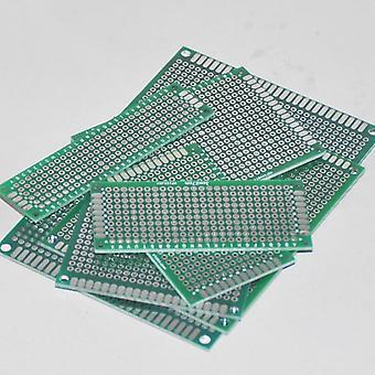 Pcbプロトタイプボード回路錫メッキストリップボードベロボードダブルサイド