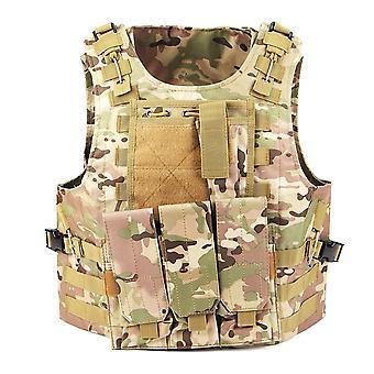 Militaire tactische vest molle strijd aanval plaat drager tactische vest cs outdoor kleding jachtvest