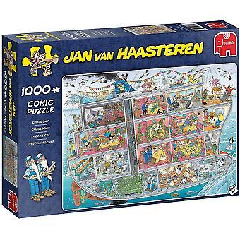 Jan van Haasteren Cruise Ship Jigsaw Puzzle (1000 Pieces)