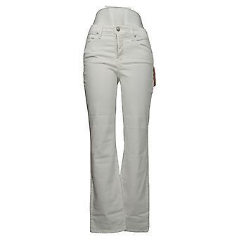 NYDJ Kvinners Jeans Marilyn Straight Leg Jeans - Optisk Hvit A309523