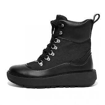 FitFlop Skandi Water Resistant Ankle Boots In All Black
