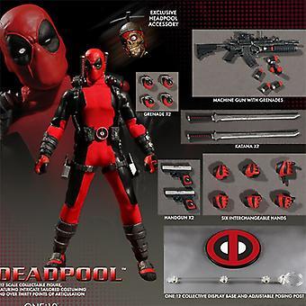 Ant Antihero 6-inch Commoner Deadpool 1st Generation Red Movable Model
