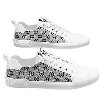 Męskie buty oddychające cienkie casual all-match płótno buty