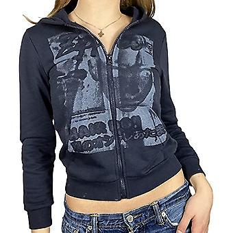 kvinners genser glidelås langermet høst / vinter genser