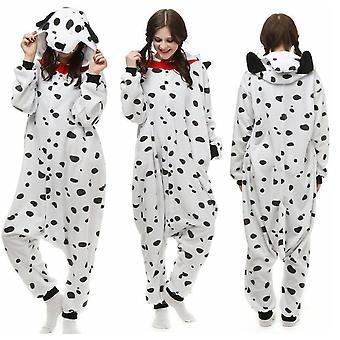 Dalmatinisches Kostüm Anime Pyjamas Cosplay Adult Jumpsuit Nachtwäsche Nachtwäsche