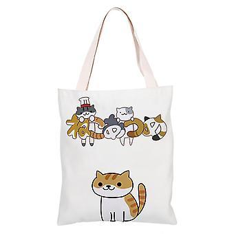 الكرتون أنيمي قماش التسوق حقيبة حمل، دردشة #20