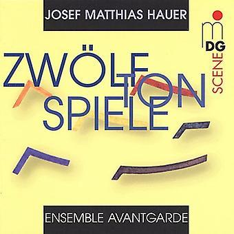 J.M. Hauer - Josef Matthias Hauer: Zw Lftonspiele [CD] USA import