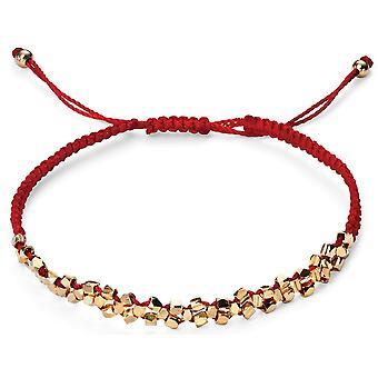 925 zilveren Rose en wit-goud verguld armband