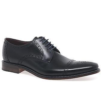 Loake Foley Mens Formal laço sapatos