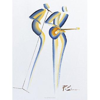 Duo Poster Print by Patrick Ciranna (12 x 16)