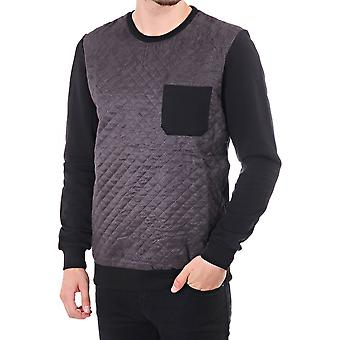 Minimum Leeland Ls Sweat With Quilt Front