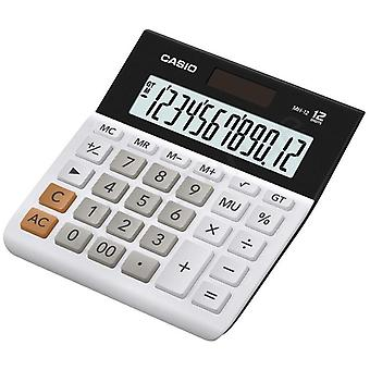 Casio Wide 12 Digit Calculator - White (Model No. MH12-WES)