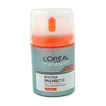 L'oreal Men Expert Hydra Energetic Daily Anti-fatigue Moisturising Lotion - 50ml/1.6oz