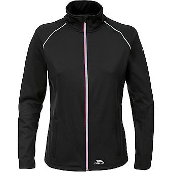 Intrusion Womens/dames gregoire mèche rapide sec Full Zip Top actif