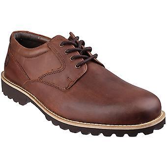 Cotswold Mens Tuffley geölt Leder Casual-Oxford-Schuhe