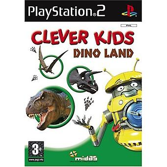 Clever Kids Dino land (PS2)-fabriks forseglet