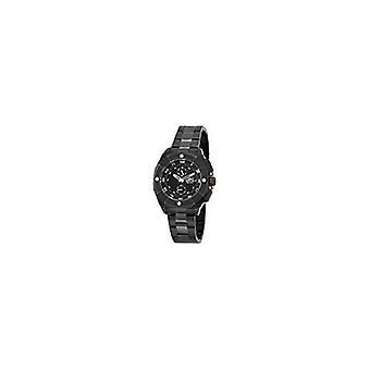 Invicta Men's 7300 Signature Black Dial Black Tone Stainless Steel Watch