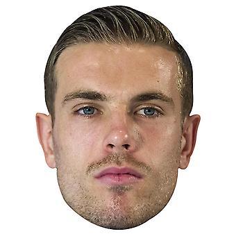 Maschera di Jordan Henderson