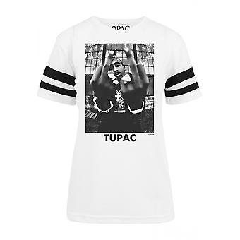 Urban Classics Damen T-Shirt 2Pac Stripes