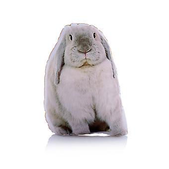Adorable rabbit shaped midi cushion