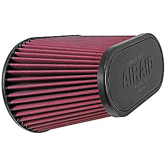 Airaid 721-128 Universal Clamp-On Air Filter: ovale affusolata; 4,5 pollici (114 mm) flangia ID; in 7,375 (187 mm) altezza; in 11,5