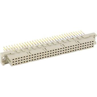 ERNI 224412 Edge connector (sockets) Total number of pins 96 No. of rows 3 1 pc(s)