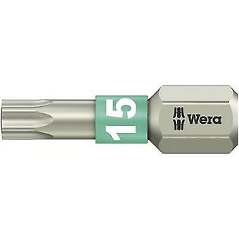 Wera 3867/1 TS TX 15 X 25 MM Torx Bit T 15 Edelstahl D 6.3 1 st.B.
