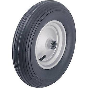Blickle 254839 Wheel with pneumatic tyres and steel sheet-rims with ball bearing, Ø 400 mm Type (misc.) Pneumatic tyre