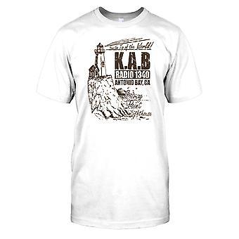 K.A.B. Radio 1340 Antonio Bay - Nebel-Herren-T-Shirt