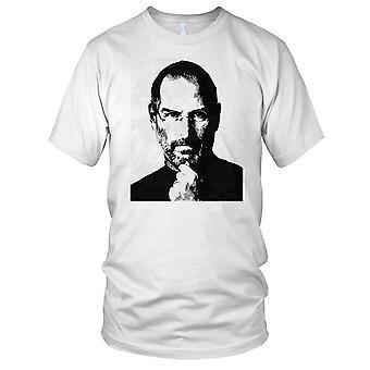 Steve Jobs Pop Art Mens T-skjorte