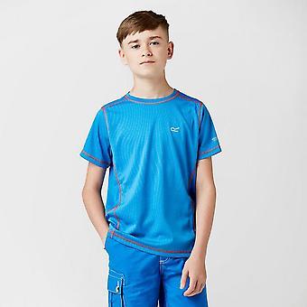 New Regatta Boy's Short Sleeve Round Neck Dazzler T-Shirt Blue