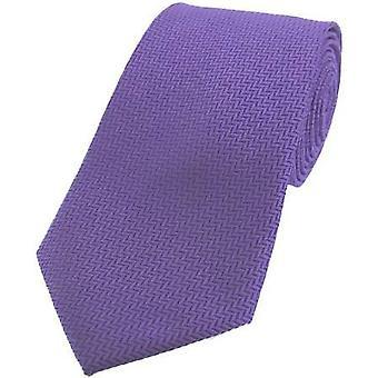 David Van Hagen kalanruoto silkki solmio - lila