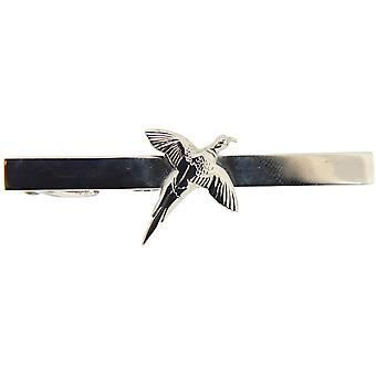 David Van Hagen Pheasant Country Tie Bar - Silver