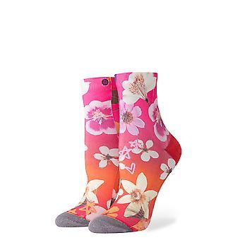 Stance Garden Goddess Ankle Socks in Pink