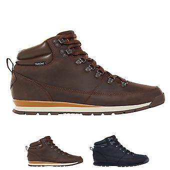 Mens The North Face Back To Berkeley Redux Leather Waterproof Snow Boots