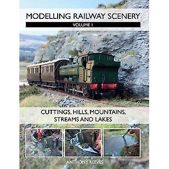 Modelado de ferrocarril paisaje - volumen 1 - esquejes - colinas - montañas-