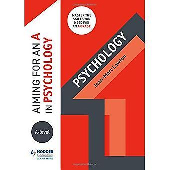 Viser un A en psychologie de niveau