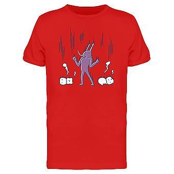 Kavität Bakterien Zahn Energie T-Shirt Herren-Bild von Shutterstock