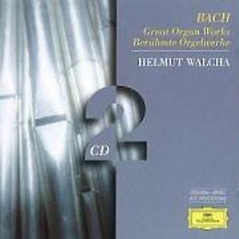 Helmut Walcha - Bach: Stora orgelverk [CD] USA import