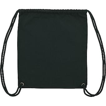 greenT Organic Woven Double Folded Durable Drawcord Gym Sack