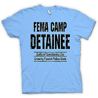 Kinder T-shirt - FEMA - Lager Häftling - Polizeistaat - Verschwörung