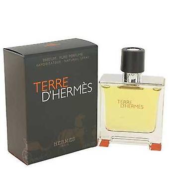 Terre D'hermes door Hermes pure Pefume Spray 2,5 oz (mannen) V728-464072