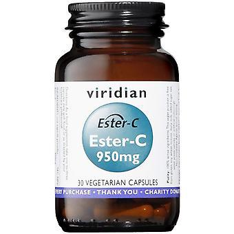 Viridian Ester C 950mg Veg Caps 30 (263)