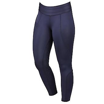 Dublin Performance Compression Womens Riding Tights - Navy Blue