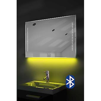 Espelho digital do shaver do pulso de disparo com a iluminação, o demist e o sensor k195w