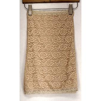Slim 'N Lift Pullon Lace Overlay Beige Shaper